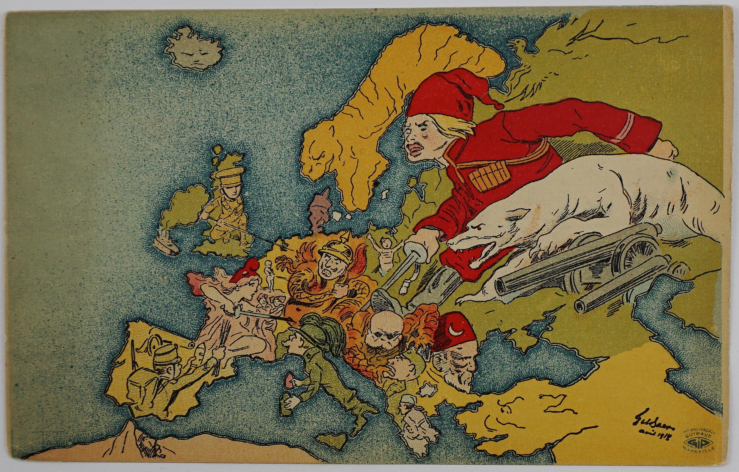 1918 - Anonymous - [Europe.]